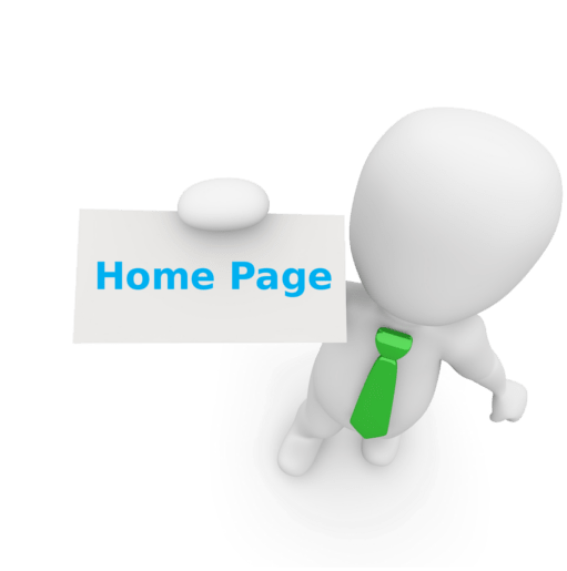 esempio di home page sito internet